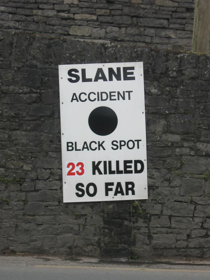 The Death Toll on Slane's Roads Rises to 23 as a Local Pensioner loses his Life in December 2013